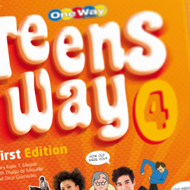 design de livros one way